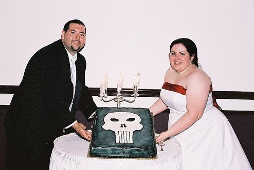 punisher cake