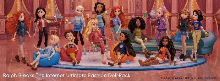 Ralph Breaks the Internet Disney Princess Doll Set