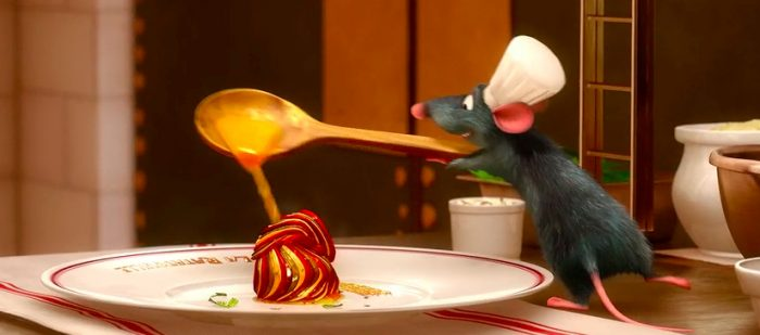 Cooking Scenes in Movies - Ratatouille