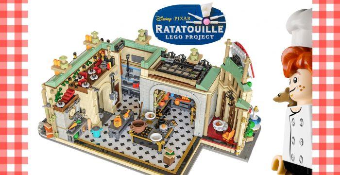 Ratatouille LEGO Set