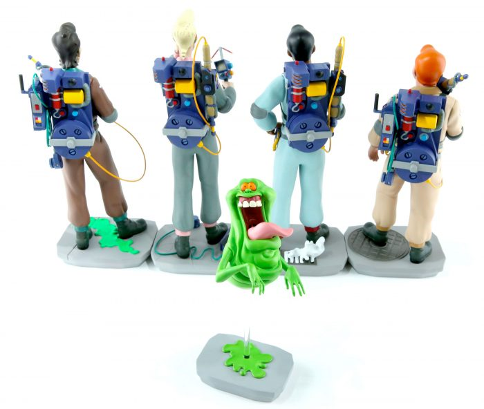 The Real Ghostbusters Statues