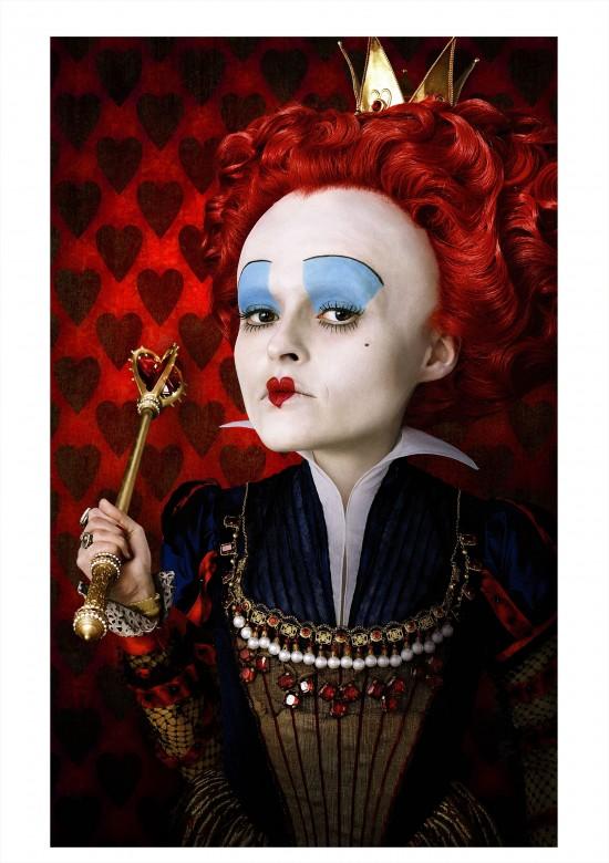 Alice in Wonderland red queen