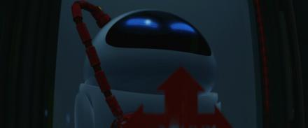Red Cables in WALL-E