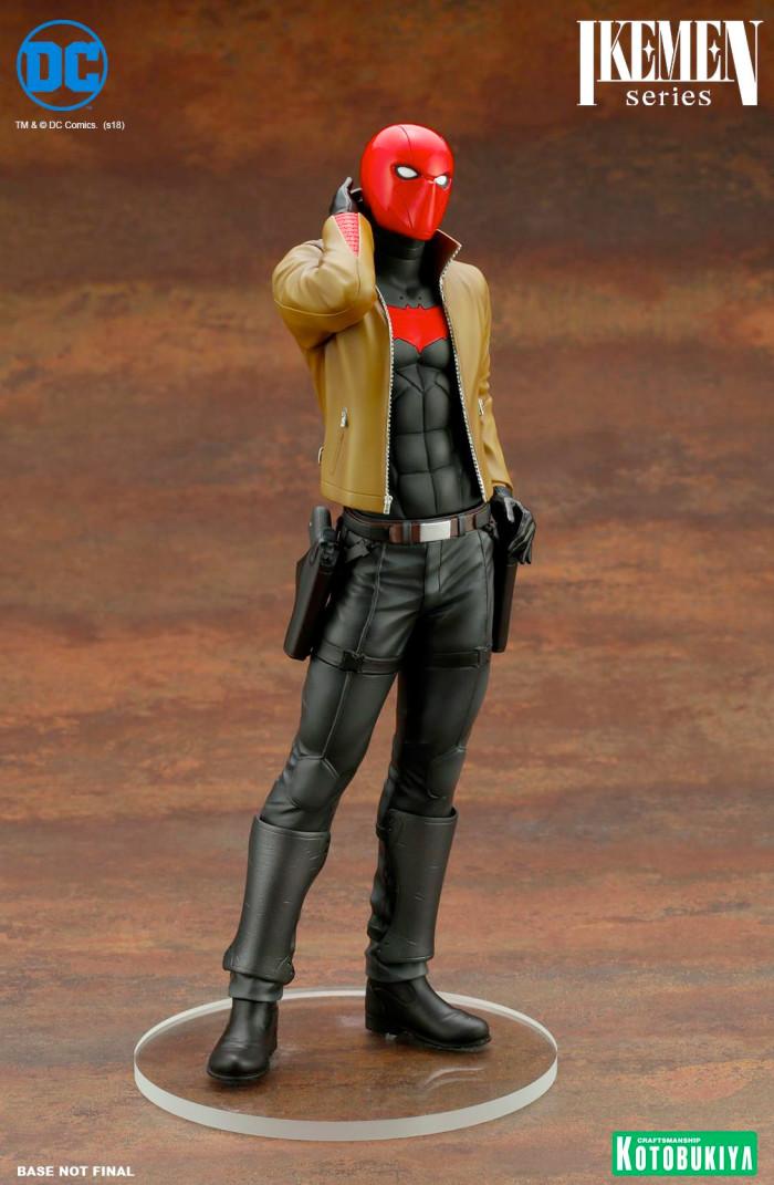 Red Hood Ikeman Statue