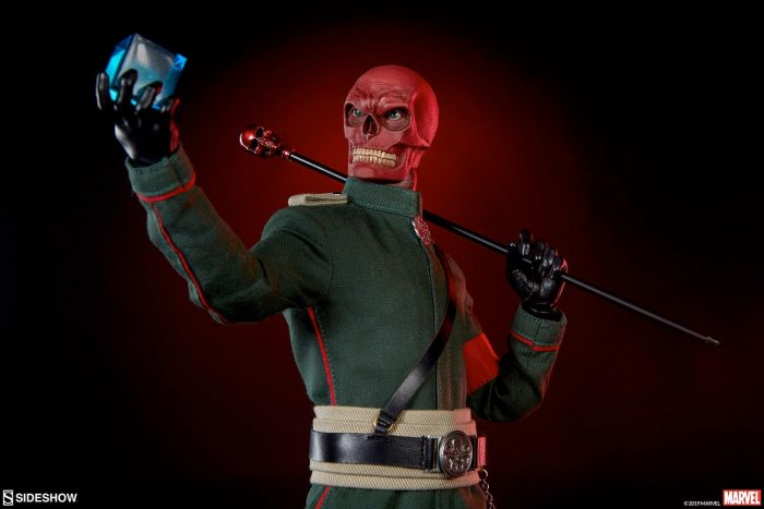 Sideshow Collectibles Red Skull Figure