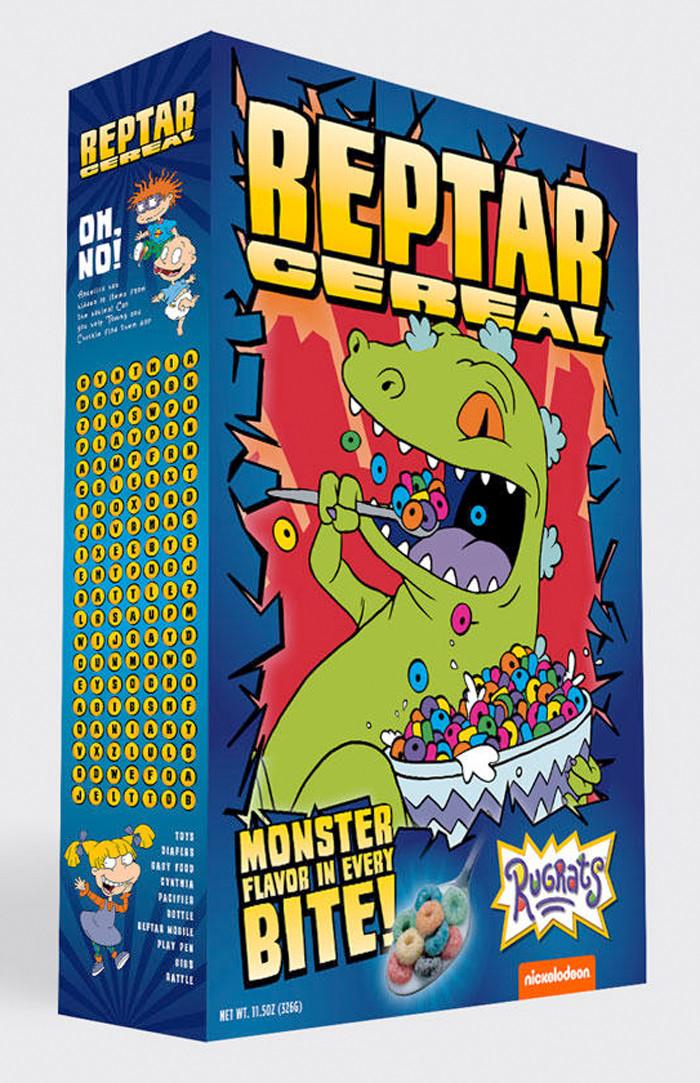 Rugrats Reptar Cereal