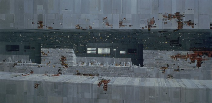 Return of the Jedi - Death Star Matte Painting