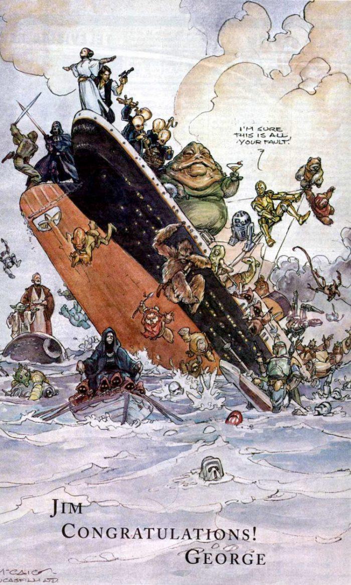 Star Wars Titanic Box Office Ad
