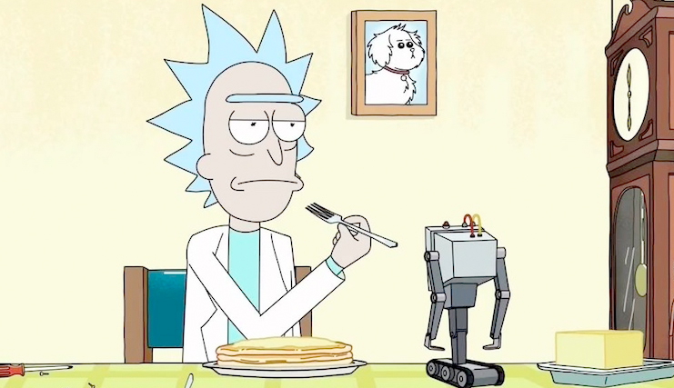 rick and morty featurette dan harmon dives into the meaning of life