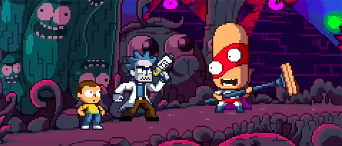 VOTD: 'Rick and Morty in the Eternal Nightmare Machine' Gives the Duo a 16-Bit Animated Adventure