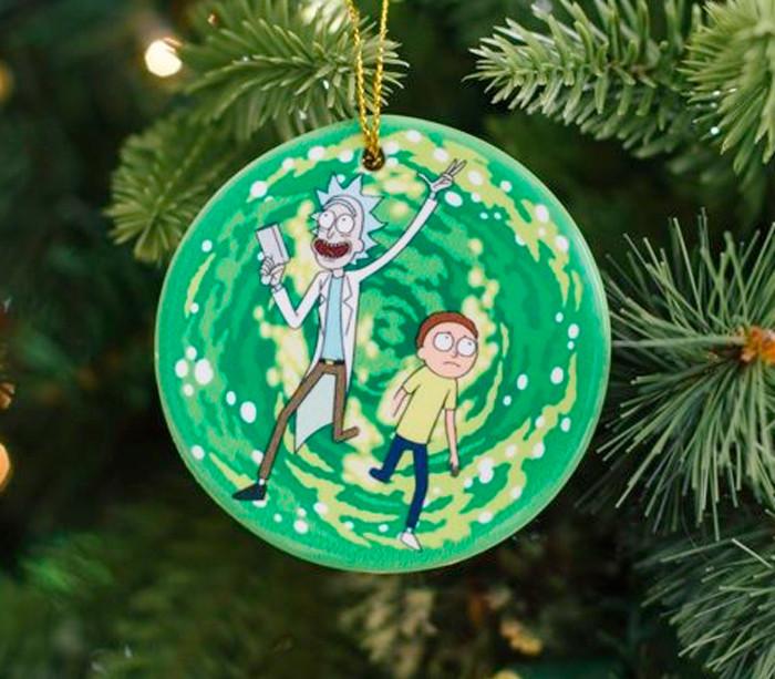 Rick and Morty Christmas Stuff