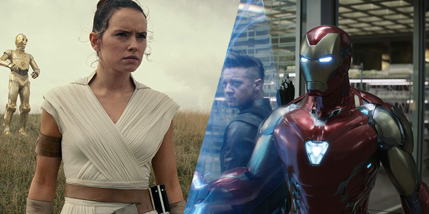 Star Wars The Rise Of Skywalker And Avengers Endgame Film