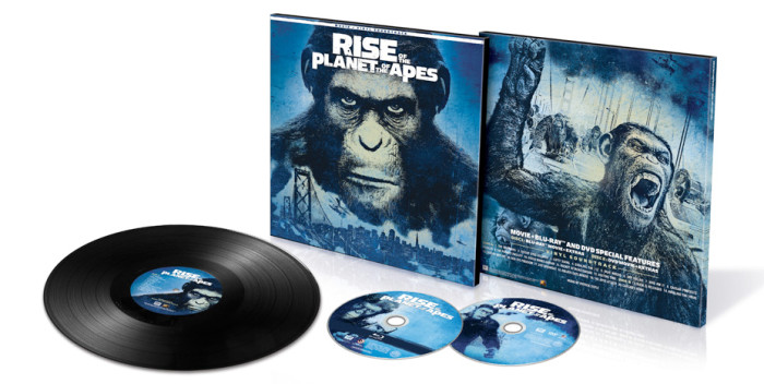 Rise of the Planet of the Apes Vinyl Combo Pack