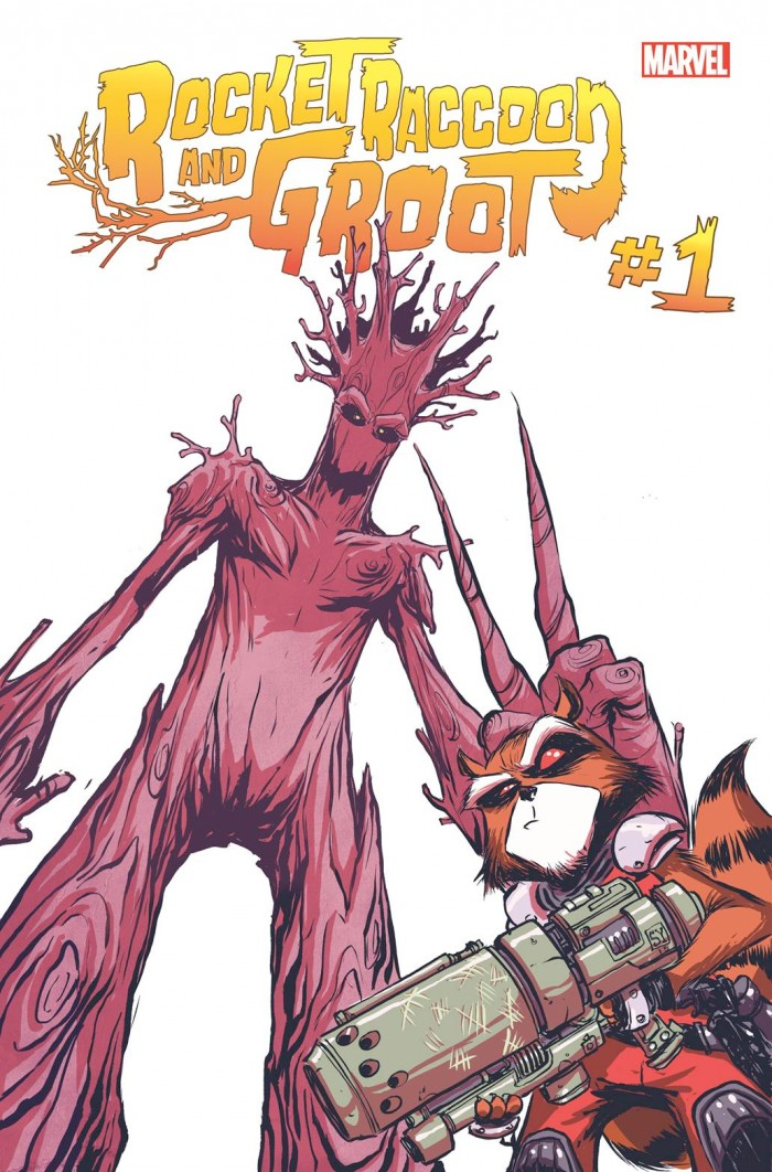 Rocket and Groot Comic