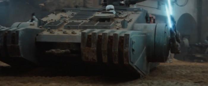 rogue one: a star wars story international trailer 2 jedha stormtrooper tank