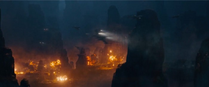 rogue one: a star wars story international trailer 2 x-wings