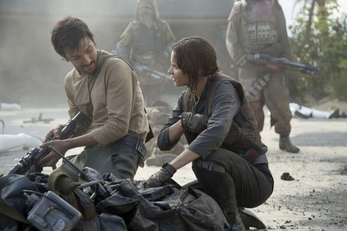 Rogue One - Cassian Andor and Jyn Erso Deleted Scene
