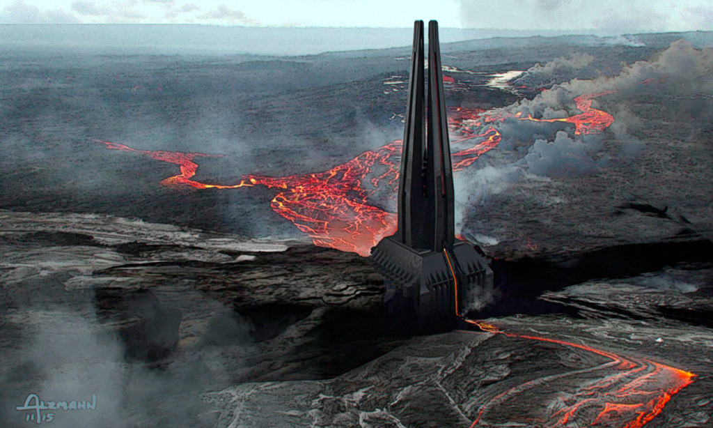 Image result for star wars mustafar rogue one