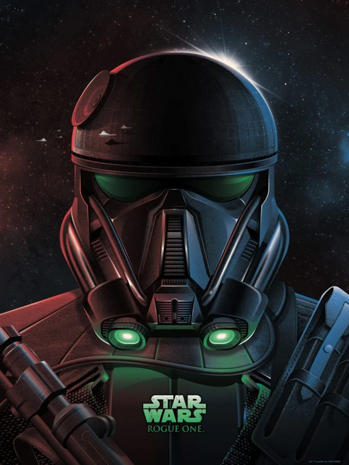 Rogue One - DKNG Death Trooper Print