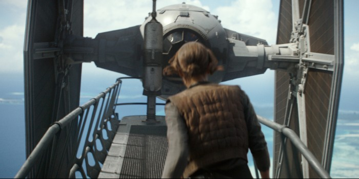 Rogue One - Jyn Erso - TIE Fighter