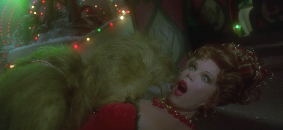The Grinch Who Stole Christmas Mayor.Ron Howard S Grinch Is About Christine Baranski Wanting To F