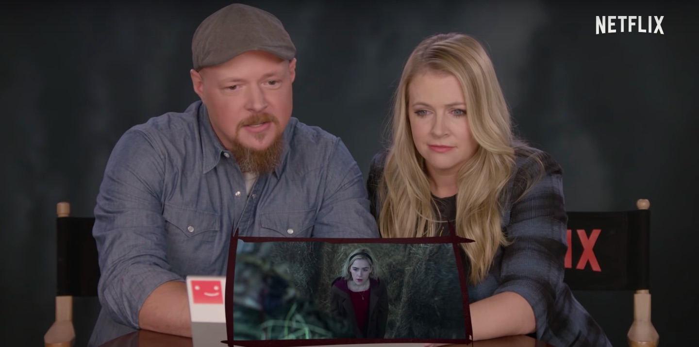 Sabrina The Teenage Witch Cast Reacts To Chilling Adventures Film Nate richert, los angeles, california. sabrina the teenage witch cast reacts