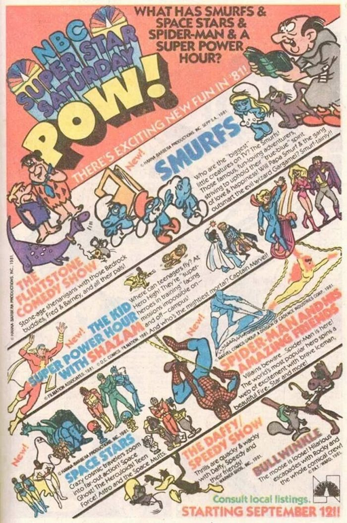 NBC Super Saturday Ad