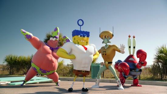 live action spongebob squarepants movie SPONGEBOB: SPONGE OUT OF WATER