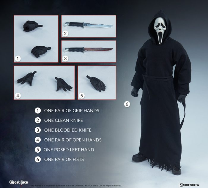 Sideshow Collectibles Scream Ghost Face Figure