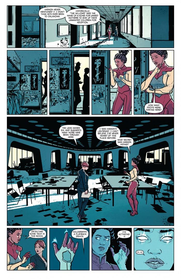 secret weapons comic preview 4