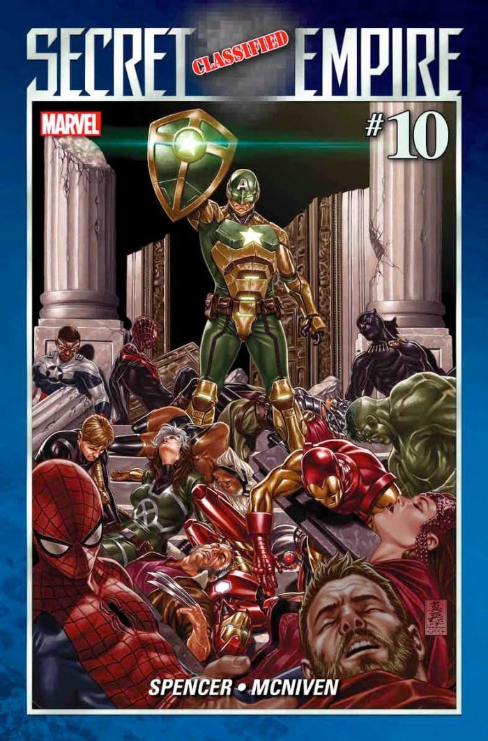 Secret Empire 10 - Captain America Hydra Armor