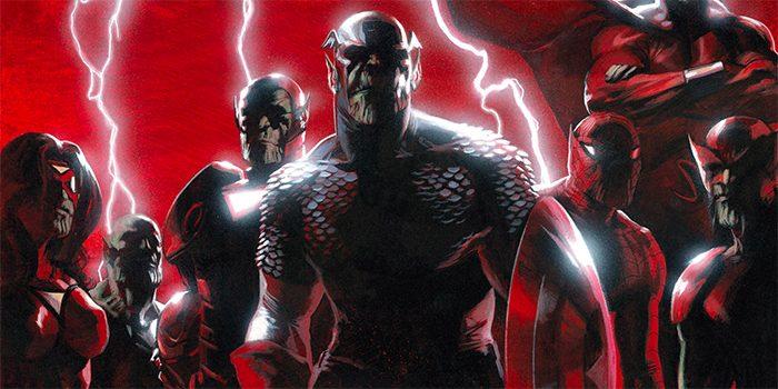 Secret Invasion Comic Cover