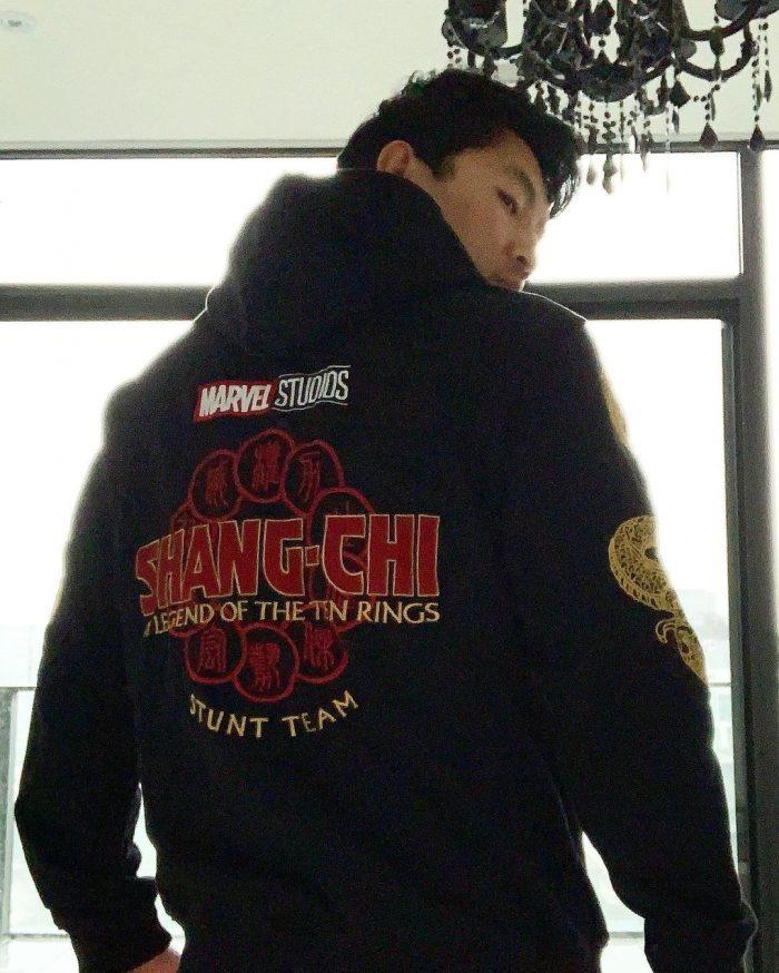Shang-Chi - Simu Liu in Hoodie
