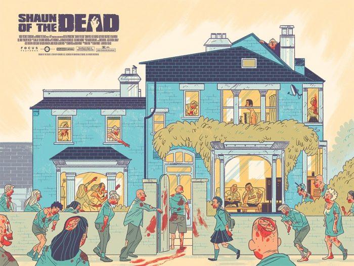Shaun of the Dead Print - Logan Faerber