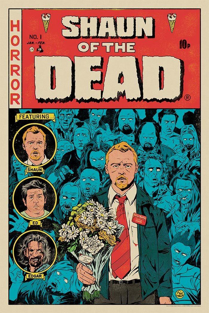 Mondo Cornetto Trilogy Prints - Shaun of the Dead