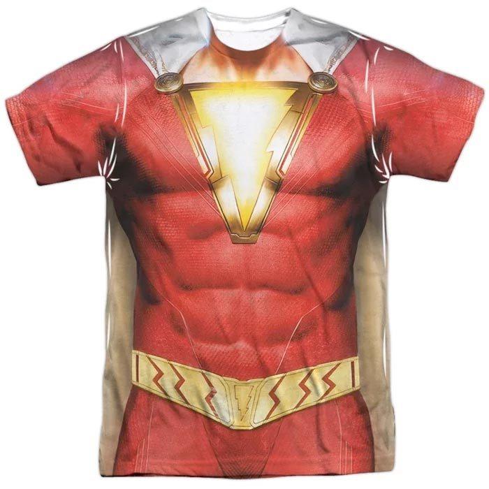 Shazam Costume Shirt