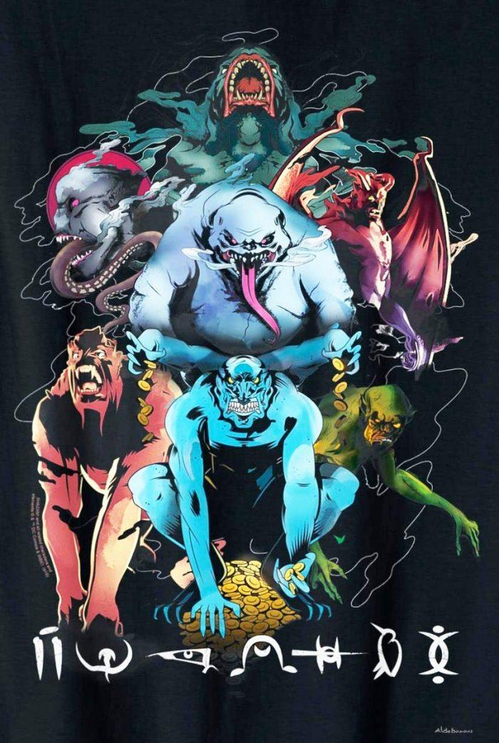 Shazam - Seven Deadly Sins Promo Art