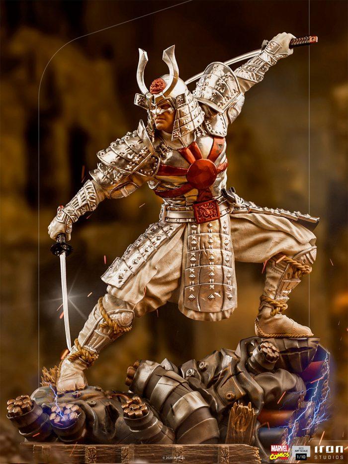 Iron Studios Silver Samurai Statue