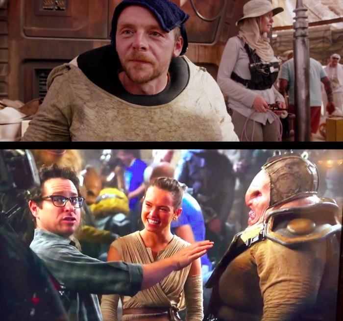 Simon Pegg - The Force Awakens