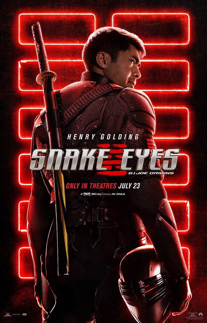 New 'Snake Eyes: G.I. Joe Origins' Poster Gets Electric Before the First  Trailer Arrives on Sunday | LaptrinhX