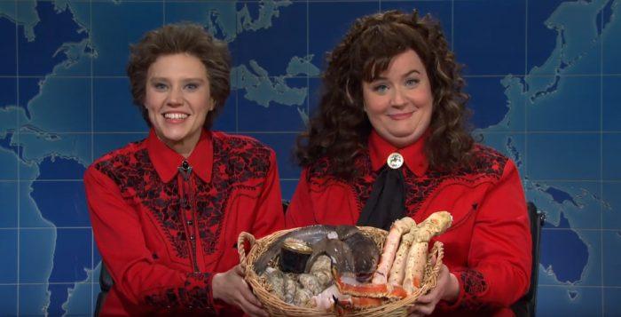 Saturday Night Live - Kate McKinnon and Aidy Bryant