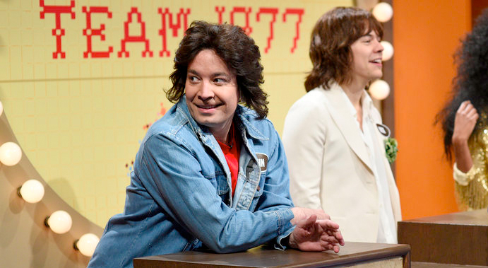 Jimmy Fallon Hosted Saturday Night Live