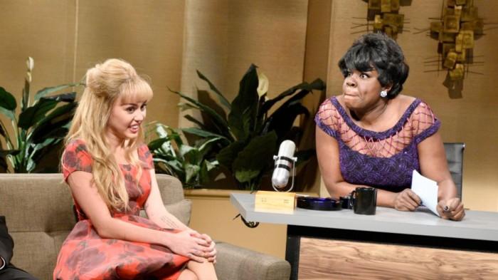 Saturday Night Live - Leslie Jones - Miley Cyrus