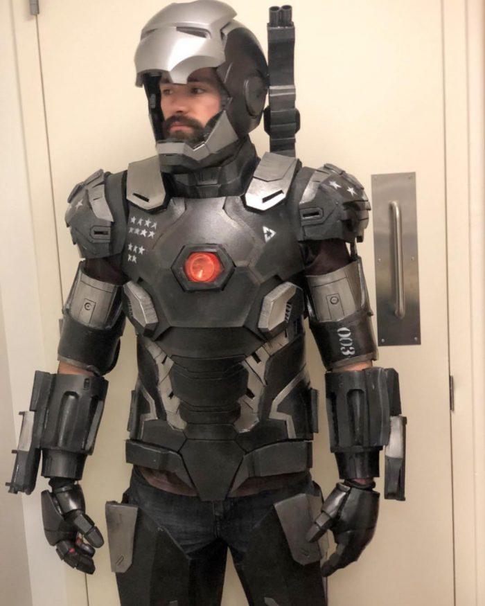 Saturday Night Live - War Machine Suit from Cut Sketch