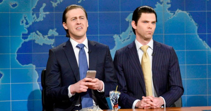 Saturday Night Live - Weekend Update - Eric and Donald Trump Jr.