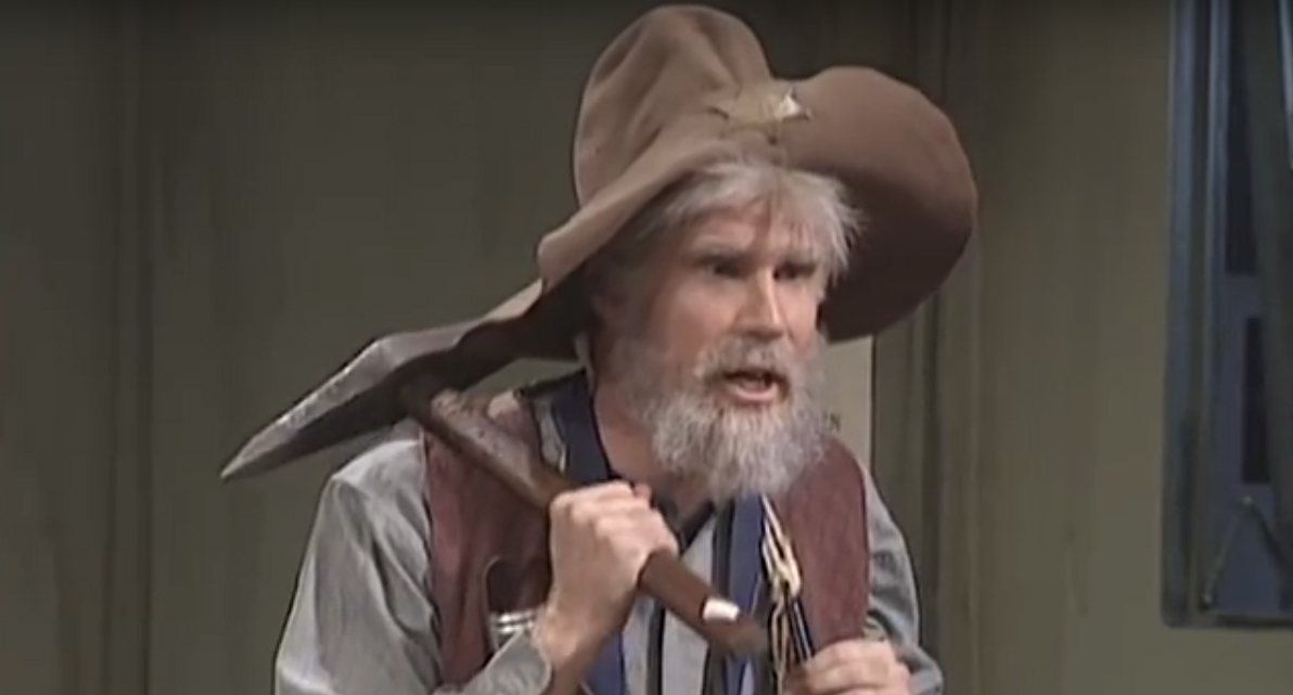 Lol This Unaired Saturday Night Live Old Prospector Sketch Is One