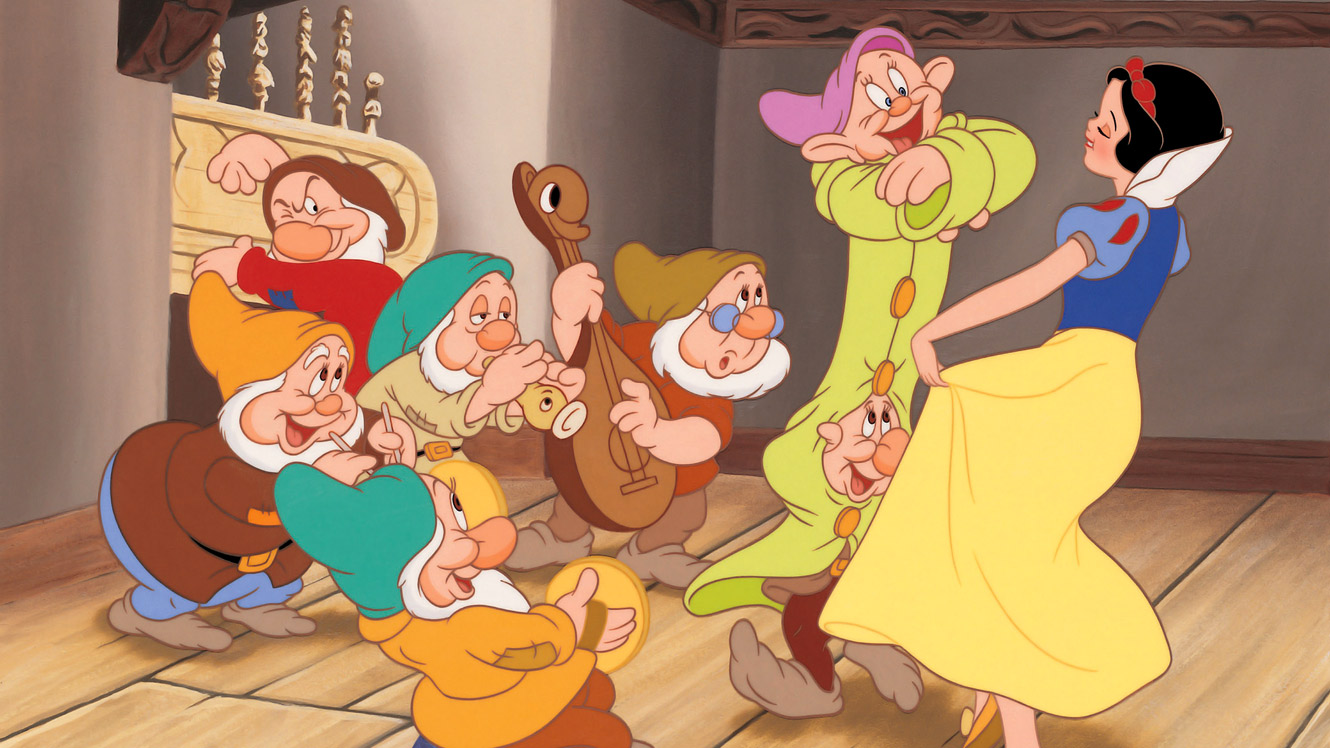 Image result for photos of snow white and the seven dwarfs