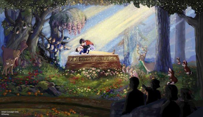 DIsneyland Snow White Ride Update