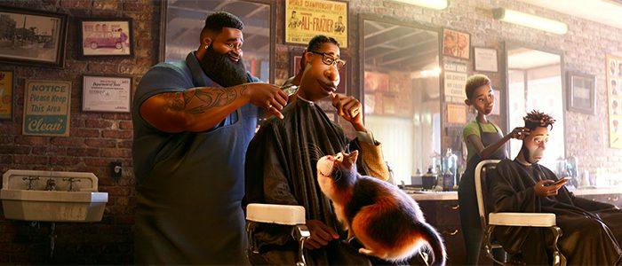 Soul - Barbershop Scene