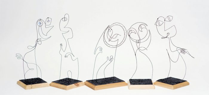 Soul - Counselors - Wire Sculptures